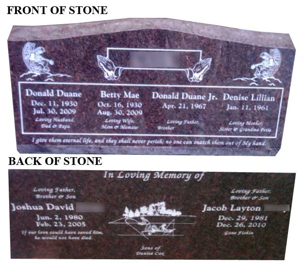 how to clean a bronze headstone