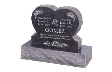 Heart Shaped Tombstones Heart Headstones Grave Markers