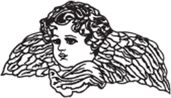 Clipart Image For Headstone Monument angel 08