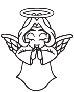 Clipart Image For Headstone Monument angel 11