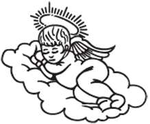 Clipart Image For Headstone Monument angel 15