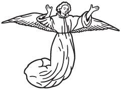 Clipart Image For Headstone Monument angel 21