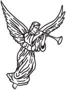 Clipart Image For Headstone Monument angel 23