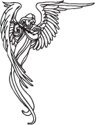 Clipart Image For Headstone Monument angel 25