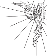 Clipart Image For Headstone Monument angel 26