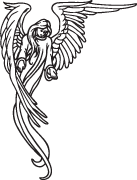Clipart Image For Headstone Monument angel 27