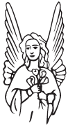 Clipart Image For Headstone Monument angel 33