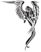 Clipart Image For Headstone Monument angel 40