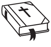 Clipart Image For Headstone Monument bible 01