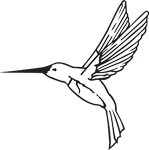 Clipart Image For Headstone Monument Bird 01