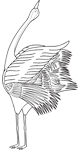 Clipart Image For Headstone Monument Bird 37