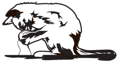 Clipart Image For Headstone Monument Cat 09