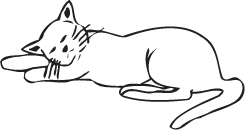 Clipart Image For Headstone Monument Cat 13