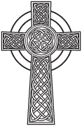 Clipart Image For Headstone Monument cross 15