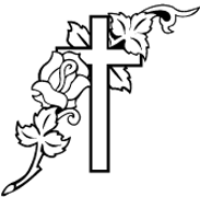 Clipart Image For Headstone Monument cross 38