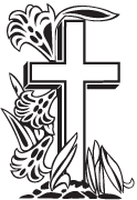 Clipart Image For Headstone Monument cross 41