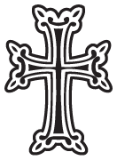 Clipart Image For Headstone Monument cross 44