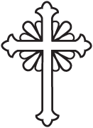 Clipart Image For Headstone Monument cross 48