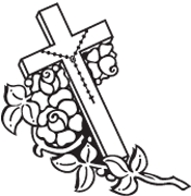 Clipart Image For Headstone Monument cross 58
