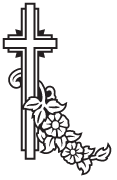 Clipart Image For Headstone Monument cross 70