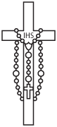 Clipart Image For Headstone Monument cross 75