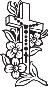Clipart Image For Headstone Monument cross 77