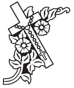 Clipart Image For Headstone Monument cross 78