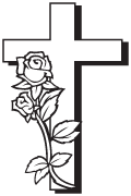 Clipart Image For Headstone Monument cross 81