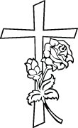 Clipart Image For Headstone Monument cross 83
