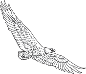 Clipart Image For Headstone Monument Eagle 13