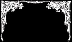 Funeral Border Clip Art