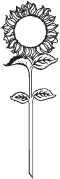 Clipart Image For Headstone Monument flower 04