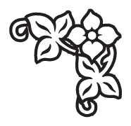 Clipart Image For Headstone Monument flower 14