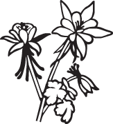 Clipart Image For Headstone Monument flower 16