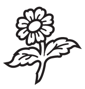 Clipart Image For Headstone Monument flower 25