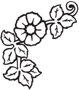Clipart Image For Headstone Monument flower 32