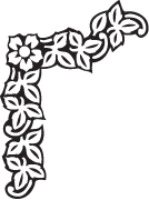 Clipart Image For Headstone Monument flower 37