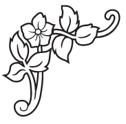 Clipart Image For Headstone Monument flower 47