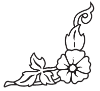 Clipart Image For Headstone Monument flower 51