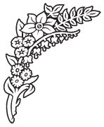 Clipart Image For Headstone Monument flower 53