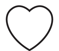 Clipart Image For Headstone Monument heart 01