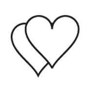 Clipart Image For Headstone Monument heart 02