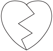 Clipart Image For Headstone Monument heart 08
