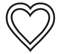 Clipart Image For Headstone Monument heart 13