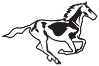 Clipart Image For Headstone Monument Horse 13
