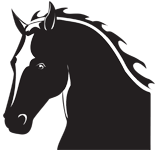 Clipart Image For Headstone Monument Horse 14