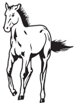 Clipart Image For Headstone Monument Horse 16