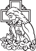 Clipart Image For Headstone Monument jesus 08