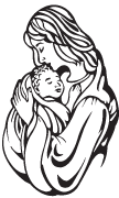 Clipart Image For Headstone Monument mary 03