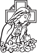 Clipart Image For Headstone Monument mary 06